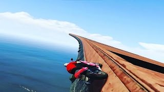 GTA 5 SHQIP - Me Motorra neper Mure !! - SHQIPGaming