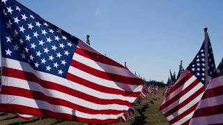 """The Wall That Heals""  The traveling Vietnam War Memorial"