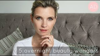 5 Overnight Beauty Wonders! | A Model Recommends