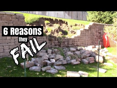 How to build a retaining wall that will last