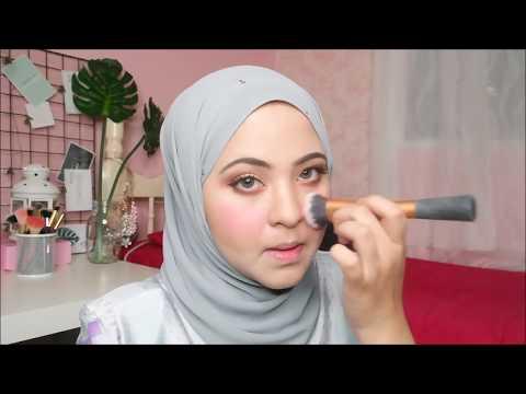 tutorial makeup raya 2018 farah domori