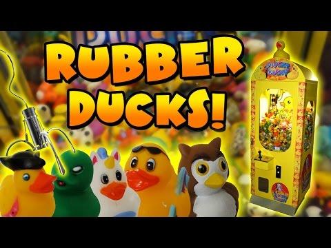 Rubber Duck Claw Machine Wins! - Claw Machine Adventures