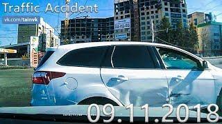 Подборка аварий и дорожных происшествий за 09.11.2018 (ДТП, Аварии, ЧП, Traffic Accident)