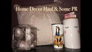HOME DECOR HAUL & SOME PR PACKAGES