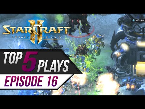 Download StarCraft 2: TOP 5 Plays - Episode 16 HD Mp4 3GP Video and MP3