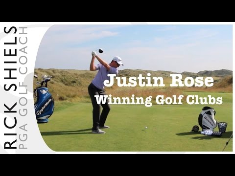 Justin Rose Winning Golf Clubs