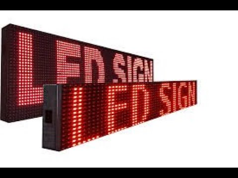TECHON LED Business Sign Boards