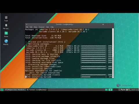 How to install LAMP Stack on Manjaro 17 0 5 | LinuxHelp Tutorials
