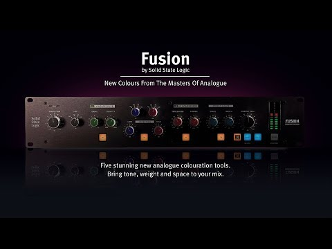 SSL Fusion - New Colours from the Masters of Analogue