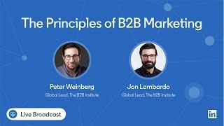 The Principles of B2B Marketing