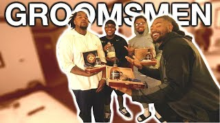 MY BROTHER GAVE US THE COOLEST GROOMSMEN GIFT! | DIY GROOMSMEN GIFT