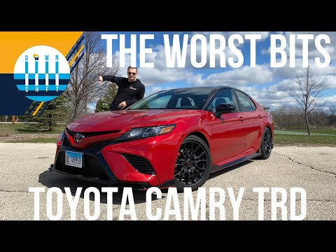 Here are the WORST things about the TOYOTA CAMRY TRD!!!