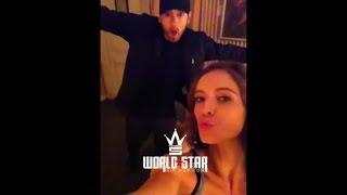 Eminem Kisses Mystery Women[LEAKED][Full Video]