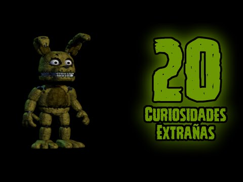 TOP 20: 20 Curiosidades Extrañas De Plushtrap En Five Nights At Freddy's 4 | FNAF 4