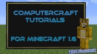 ComputerCraft Tutorials for Minecraft 1.6 - Part 7 : Modems