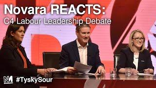Novara REACTS to Channel 4 Labour Leadership Debate