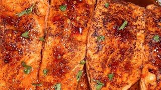 Sweet Chili Lime Salmon