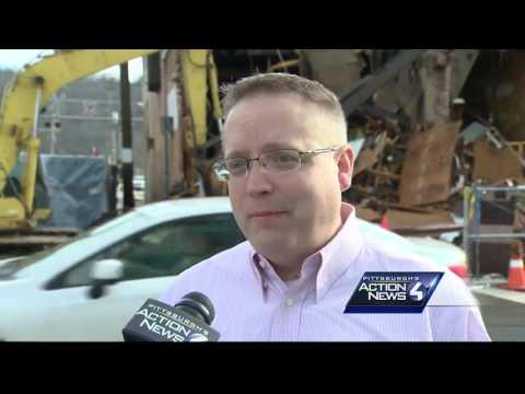 Demolition of Atlas building underway in Charleroi