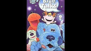 Opening To Blue's Clues:Blue Talks 2004 VHS