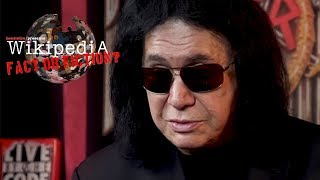 Gene Simmons - Wikipedia: Fact or Fiction?