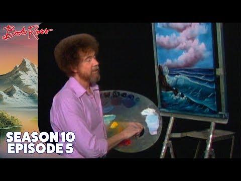 Bob Ross - Ocean Breeze (Season 10 Episode 5)