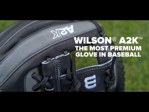 Wilson A2K | The Most Premium Glove In Baseball