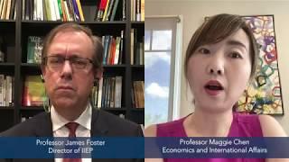Professor Maggie Chen Discusses the Economic Impacts of COVID-19