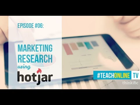 Conducting Market Research for your Online Course using Hotjar ...