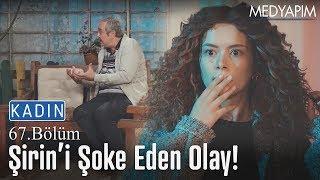 Şirin, Enver'i kendi kendine konuşurken görüyor..😲 - Kadın 67. Bölüm