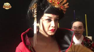 """""""Thánh hát lô tô"""" Lương Trung Kiên mặc cổ trang lộng lẫy tập luyện thi Thách thức danh hài"""