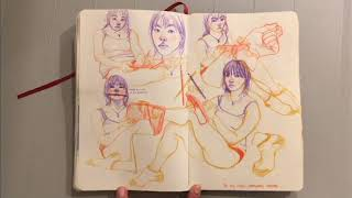 CalArts Sketchbook 2018 hah