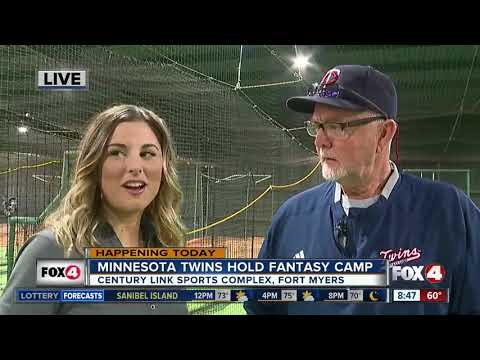 The Minnesota Twins hold 2019 fantasy camp in Fort Myers