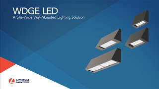 WDGE LED from Lithonia Lighting®: Reimagine Wall Mounted Lighting