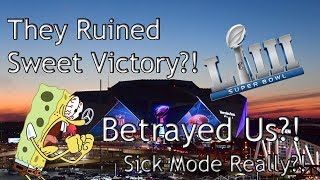 NFL Superbowl 53 Disappointed Us No Sweet Victory Performance?!