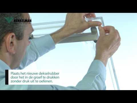 Video Onderhoud Henkelman: dekselrubber en siliconen profiel