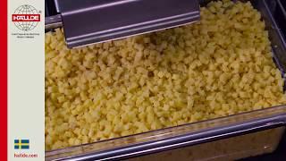 Potatis: Tärningsgaller 10×10 mm