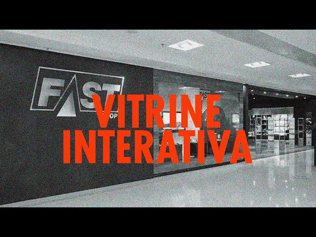 Fast Shop inaugura vitrine digital no Shopping Pátio Paulista