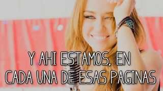 Miley Cyrus ~ I'll Always Remember you ❤ [traducida en español]