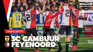 MALACIA matchwinner in Leeuwarden! | Highlights SC Cambuur - Feyenoord | 2021-2022