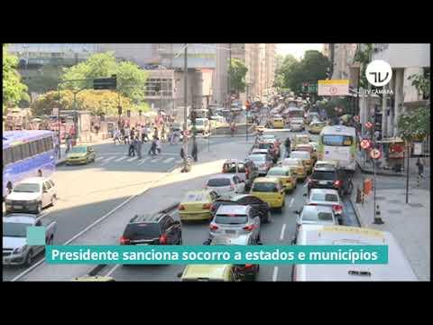 Bolsonaro sanciona projeto de socorro a estados e municípios - 21/01/21