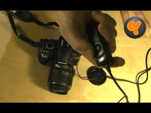 Test: Pixel Kabel-Fernauslöser RC-201 für Nikon D90/D600/D3100/D5100/D7000 wie MC-DC2 1,1m Kabel