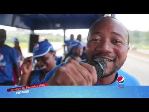 La parade de Pepsi Tour à Port Bouet