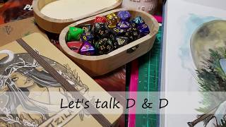 Lets talk D&D - meet my character Tzila!