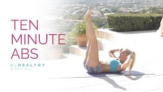 10 Minute Abs | Rebecca Louise by Rebecca-Louise