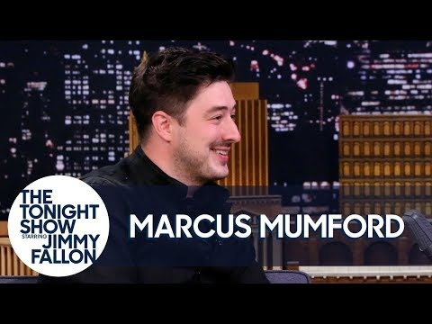 "Marcus Mumford Forgot The Lyrics To ""Hungry Heart"" While Singing With Bruce Springsteen - The Tonight Show Starring Jimmy Fallon"