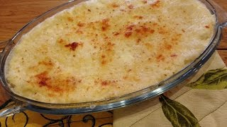 Risotto goloso, Filante al forno- Baked rice whit cheese- Easy with Desy