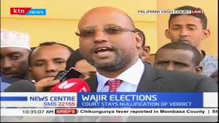 Wajir Governor Mohamed Abdi to appeal the nullification of his election