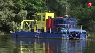 Dredger НСС 800-40-F-GR cleans water bodies of Vinnytsia region