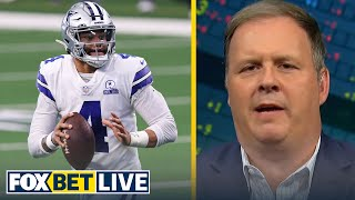 Cowboys can still win the division without Dak — Cousin Sal | NFL | FOX BET LIVE