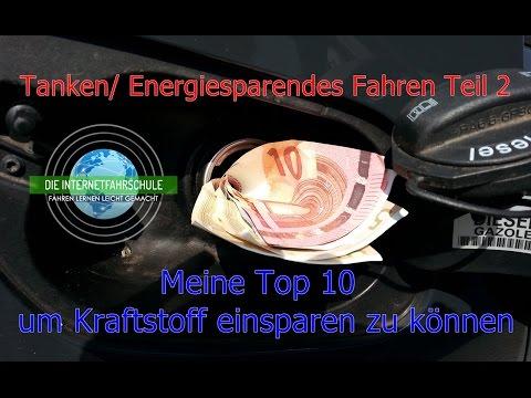 Das Druckverhältnis des Motors unter welches Benzin